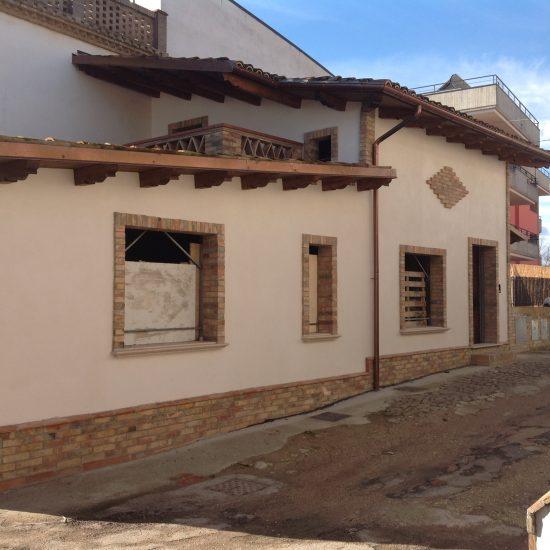 Demolizione e ricostruzione di fabbricato residenziale